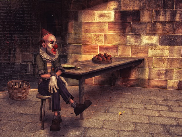 https://pixabay.com/en/clown-lonely-leave-sad-fantasy-2092079/